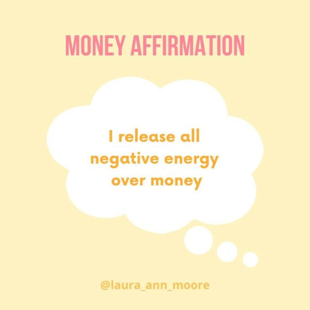 "MONDAY MONEY AFFIRMATION⠀⠀⠀⠀⠀⠀⠀⠀⠀ ⠀⠀⠀⠀⠀⠀⠀⠀⠀ ""I release all negative energy over money""⠀⠀⠀⠀⠀⠀⠀⠀⠀ ⠀⠀⠀⠀⠀⠀⠀⠀⠀ The way you handle your finances is largely impacted by the way you think and feel about money (your money story, your beliefs and your mindset, your relationship to money etc.)⠀⠀⠀⠀⠀⠀⠀⠀⠀ ⠀⠀⠀⠀⠀⠀⠀⠀⠀ This is a great affirmation to start a mindset shift from a negative way of thinking⠀⠀⠀⠀⠀⠀⠀⠀⠀ ⠀⠀⠀⠀⠀⠀⠀⠀⠀ Now I'm not going to lie to you here... you cannot wake up in the morning, look in the mirror, say this affirmation and think all the hard work is done (as lovely as that would be)⠀⠀⠀⠀⠀⠀⠀⠀⠀ ⠀⠀⠀⠀⠀⠀⠀⠀⠀ Affirmations are tools to help us shift our beliefs (like how budgeting is a tool to help manage your money) but they are one piece of the puzzle, not the whole puzzle⠀⠀⠀⠀⠀⠀⠀⠀⠀ ⠀⠀⠀⠀⠀⠀⠀⠀⠀ Affirmations alone won't miraculously make you better with money or more comfortable with your finances BUT they are an incredible (and free) way of making a change⠀⠀⠀⠀⠀⠀⠀⠀⠀ ⠀⠀⠀⠀⠀⠀⠀⠀⠀ ⠀⠀⠀⠀⠀⠀⠀⠀⠀ #moneyquote #affirmation #financialliteracy #financialeducation #2020goals #financialgoals #moneygoals #savinggoals #thoughts #moneybeliefs #affirmations #moneymatters #moneyblog #personalfinanceforwomen #moneyblog #moneyblogger"