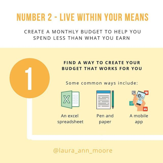 """💡Tips on how to be financially stable - PART TWO  Here is a 5 step breakdown on what it means to """"live within your means""""  The key thing to managing your money is learning how to spend less than what you earn💰  There are so many factors that can make this a hard task:  ❌ Bills and expenses not all coming out at the same time = more likely to spend money that is sat in your account  ❌ Getting paid weekly or fortnightly but having monthly bills - that can feel overwhelming  ❌ Emotional spending triggers = impulse buys that are not in the budget  ❌ Unexpected things to pay for that you forget about or came up last minute  But the best thing to do is to try out yourself in the best position to support the habit of spending less than you earn:  ✨Creating a budget that works for you  ✨Separating your bills money from your spending money  ✨Working on your money mindset and practising mindful spending  ✨Make sure you're focusing on building your emergency fund as best as you can  What things do you do to make sure you live within your means?  #moneyhelp #moneymatters #ukfinfluencers #moneyblog #financetips #financialliteracy #financialeducation #savemore #spendless #savingtips #personalfinance #moneysavingexpert #savingmoney #howtosave"""