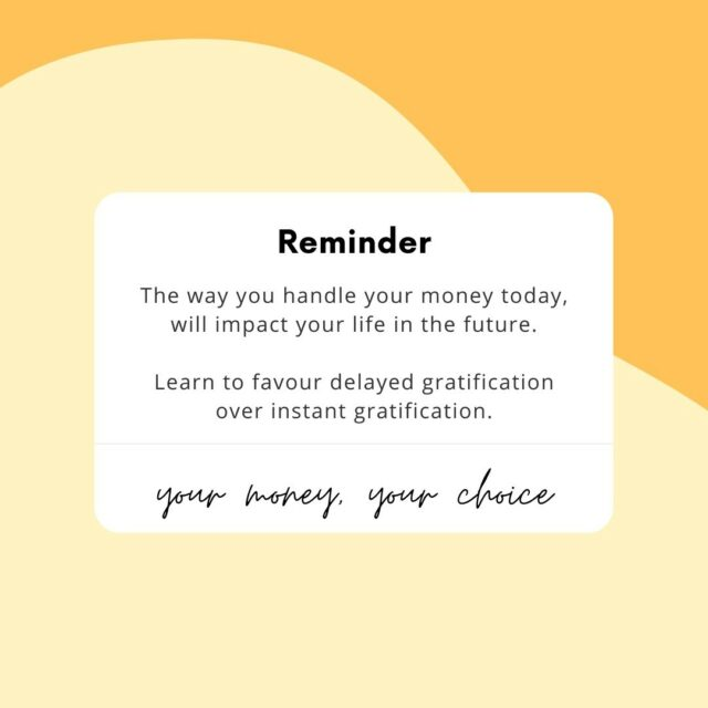 ✨Here is a little reminder that the way you handle your money today, will have an impact on your life in the future✨⠀⠀⠀⠀⠀⠀⠀⠀⠀ ⠀⠀⠀⠀⠀⠀⠀⠀⠀ It is hard with everything going on in the world at the moment but the last thing we want to do is just neglect our finances⠀⠀⠀⠀⠀⠀⠀⠀⠀ ⠀⠀⠀⠀⠀⠀⠀⠀⠀ This is why it is great to learn how to favour delayed gratification over instant gratification💭⠀⠀⠀⠀⠀⠀⠀⠀⠀ ⠀⠀⠀⠀⠀⠀⠀⠀⠀ 🧠 As humans, our brains tend to favour instant gratification - It is the little child within us that wants things now; it wants that rush of dopamine; it certainly does not want the discomfort of waiting for something😖⠀⠀⠀⠀⠀⠀⠀⠀⠀ ⠀⠀⠀⠀⠀⠀⠀⠀⠀ According to Freudian psychoanalysis, this is known as the pleasure principle⠀⠀⠀⠀⠀⠀⠀⠀⠀ ⠀⠀⠀⠀⠀⠀⠀⠀⠀ 💡 But delayed gratification means to put off something that would be rewarding in the now, in order to wait for the pleasure that will come with time or more effort further down the line⠀⠀⠀⠀⠀⠀⠀⠀⠀ ⠀⠀⠀⠀⠀⠀⠀⠀⠀ E.g. saving money instead of spending money⠀⠀⠀⠀⠀⠀⠀⠀⠀ ⠀⠀⠀⠀⠀⠀⠀⠀⠀ Finding the balance between immediate satisfaction and long-term rewards is key 🔑 ⠀⠀⠀⠀⠀⠀⠀⠀⠀ ⠀⠀⠀⠀⠀⠀⠀⠀⠀ 🌟 Last chance to grab your tickets for our Saving workshop tomorrow at 7pm @talktwenties 🌟⠀⠀⠀⠀⠀⠀⠀⠀⠀ ⠀⠀⠀⠀⠀⠀⠀⠀⠀ #moneyblog #moneymatters #finance #personalfinance #savinggoals #moneygoals #ukfinfluencers #savemore #savingtips #savingmoney #ukmoneyblogger #financialeducation #financequote #moneyhelp #moremoney #moneyworkshop #moneymindset