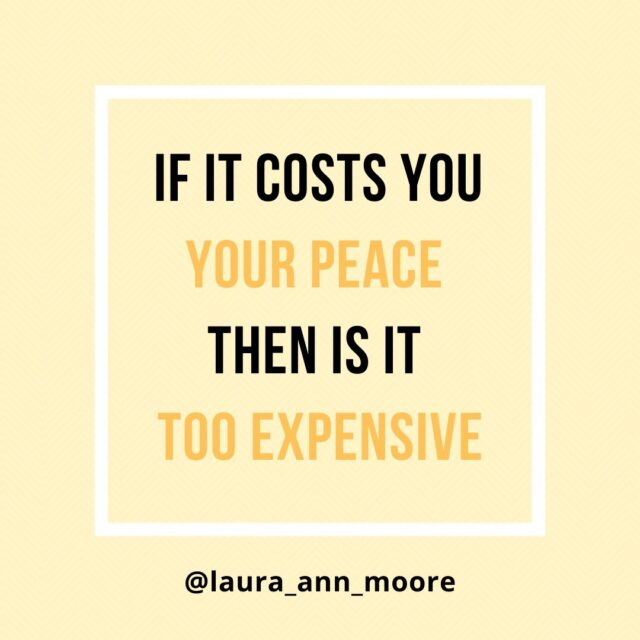 Here is a Sunday reminder - If it costs you your peace, then it is too expensive ✨⠀⠀⠀⠀⠀⠀⠀⠀⠀ ⠀⠀⠀⠀⠀⠀⠀⠀⠀ There is a strong link between money and mental health, and financial stress can really take over and run your life⠀⠀⠀⠀⠀⠀⠀⠀⠀ ⠀⠀⠀⠀⠀⠀⠀⠀⠀ ❌ NOTHING is worth it, if it has a negative impact on our health (physically and mentally). The best thing to do is acknowledge it, be aware of what might be causing you stress and then focus on the things that you can control...⠀⠀⠀⠀⠀⠀⠀⠀⠀ ⠀⠀⠀⠀⠀⠀⠀⠀⠀ 🌟 Remember you are the one in control of your own money so focusing on how you handle it and the financial decisions you make, are key to our financial well-being 🌟⠀⠀⠀⠀⠀⠀⠀⠀⠀ ⠀⠀⠀⠀⠀⠀⠀⠀⠀ 1️⃣ Take a look at your spending habits - Do they take your closer or further away from your goals?⠀⠀⠀⠀⠀⠀⠀⠀⠀ ⠀⠀⠀⠀⠀⠀⠀⠀⠀ 2️⃣ Assess the long-term commitments you have (or are preparing to take on) - Are they helping your or hindering you?⠀⠀⠀⠀⠀⠀⠀⠀⠀ ⠀⠀⠀⠀⠀⠀⠀⠀⠀ 3️⃣ Review your financial goals - Do they light you up with excitement or stress you out?⠀⠀⠀⠀⠀⠀⠀⠀⠀ ⠀⠀⠀⠀⠀⠀⠀⠀⠀ ✨When we take some time to evaluate, it gives us the chance to make small but powerful changes to our lives✨⠀⠀⠀⠀⠀⠀⠀⠀⠀ ⠀⠀⠀⠀⠀⠀⠀⠀⠀ #moneymatters #moneyandmentalhealth #personalfinance #financialeducation #financialliteracy #ukfinfulencers #moneyblog #moneyblogger #moneytips #financialcooach #mmoneymindset #motivation #motivationalquote #moneymeme #moneyquote